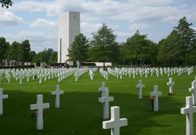 Afbeelding van Amerikaanse Begraafplaats Margraten