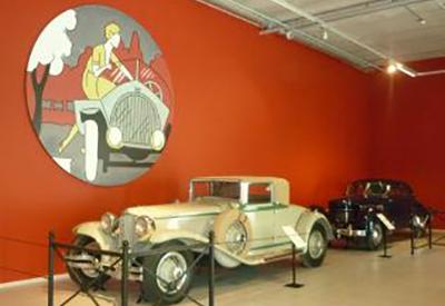 Impressie van Louwman Museum
