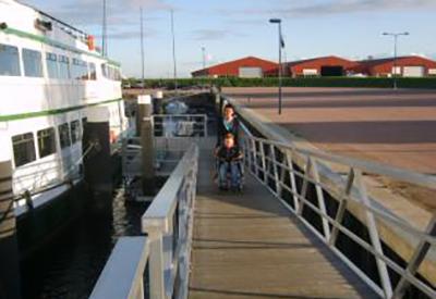 Impressie van Frisia rondvaarten